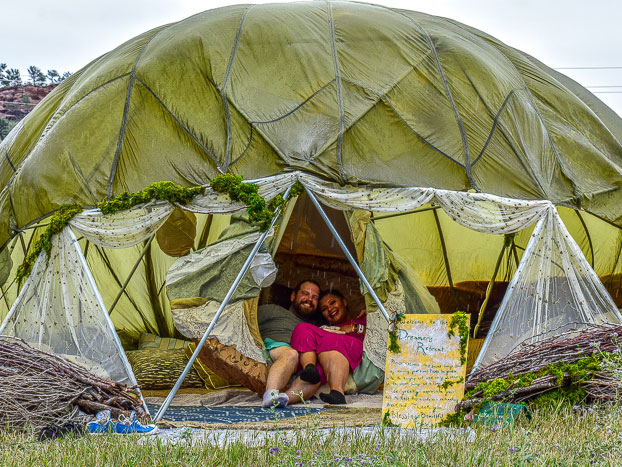 2018 glamping by Alex Michael