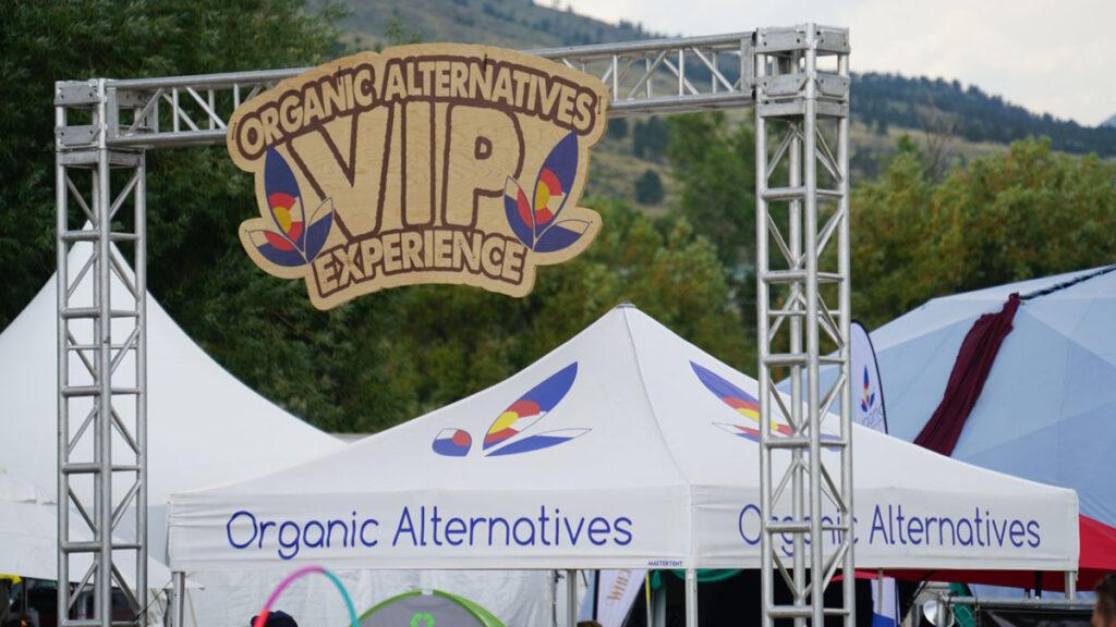 ARISE Music Festival Organic Alternatives